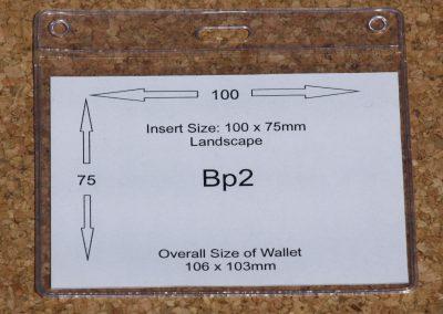 BP2 PVC Wallet