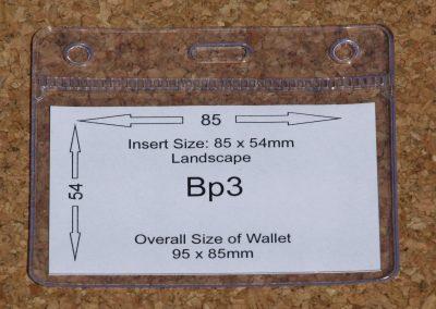BP3 PVC Wallet