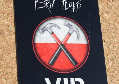 Brit Floyd Plasticard