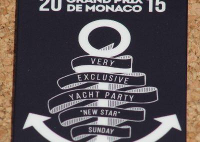Exclusive Yacht Party Plasticard